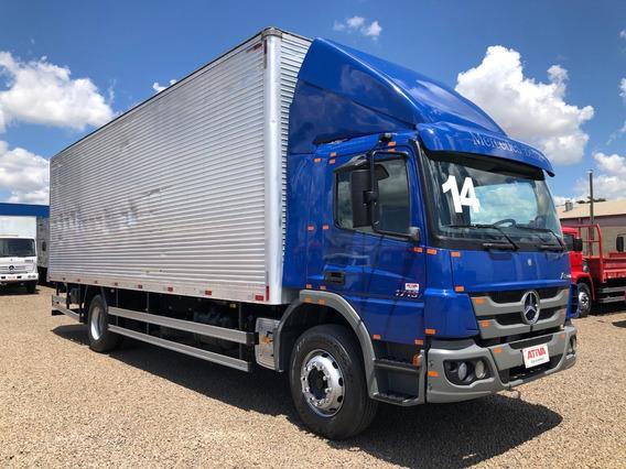 Mercedes-benz Mb Atego 1719 2014/2014 Baú - Ativa Caminhões