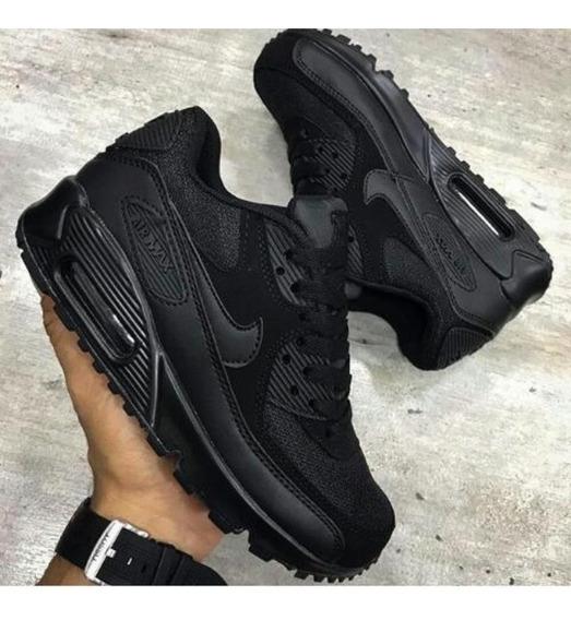 Nike Air Max 90 Negro Tenis Nike para Hombre en Mercado
