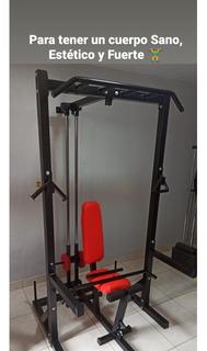 ¿¿¿jaula De Potencia Multifuncional Máquina Gym ¿¿¿