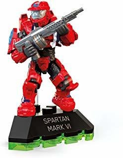 Aj2 Mega Construx Halo Spartan Mark Iv - Set De Construcci
