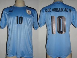 Camisa Uruguai Home 2016 De Arrascaeta # 10
