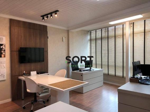Sala Comercial Para Locação Mobiliado, Balneário Camboriú - Sa0038