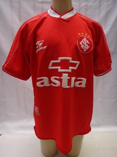 Camisa Futebol Internacional Topper 2000 #10 Chevrolet Jb7