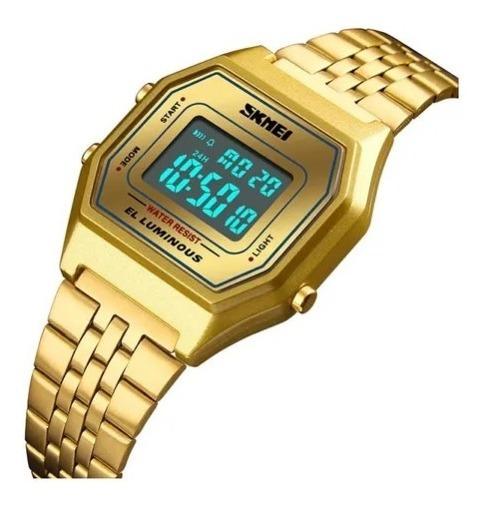 Relógio Feminino Original Dourado - Lançamento