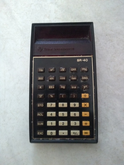 Calculadora Texas Sr 40