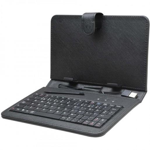 Kit 5 Teclado P/ Tablet 10 Preta