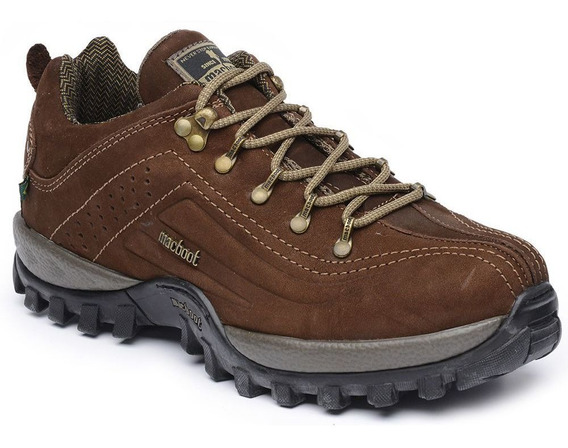 Tenis Adventure Macboot Peroba Nobuck Tabaco Marron