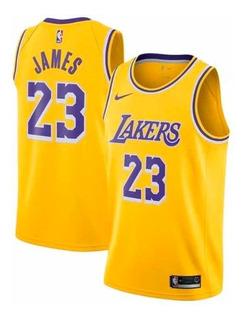 Musculosa Los Angeles Lakers Lebron James Nba Original Nueva