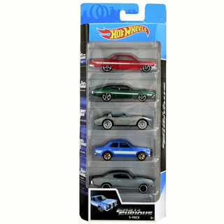 Set 5 Carritos Hotwheels Carros 5 Pack Originales