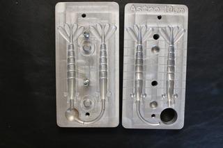 Forma Camarão Artificial Rz Pesca Astro Articulado 10cm