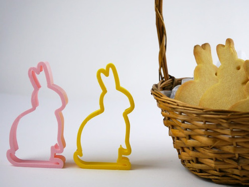 Cortantes Personalizados Moldes Galletitas Conejos Pascuas