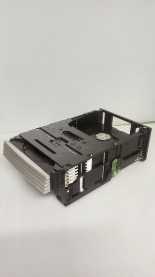 Compartimento De 5cds System Philips Fwm912 Com Defeito