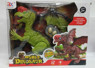 Dinosaurio Que Pone Huevos Con Luz Y Sonido En Caja