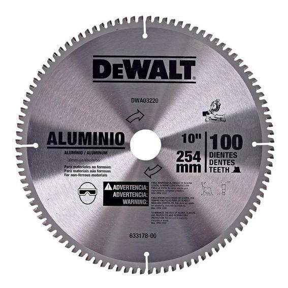 Disco De Serra Para Alumínio 10
