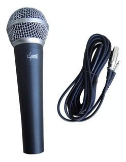 Microfono Dinamico E-sound Es58 Cable Karaoke By Dancis