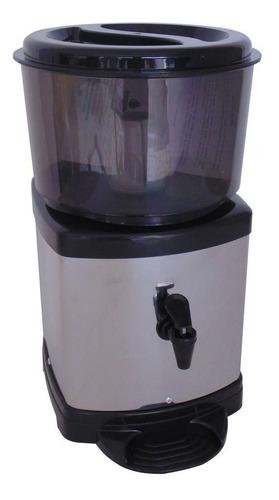 Filtro Agua Purificador Inox Preto C/ Vela E Bóia Acquamar