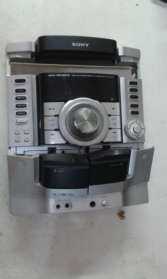 Frente/ Placa E Display Sony Mhc-rg490s