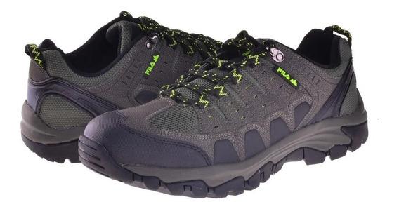 Zapatillas Fila Black Rock Hombre Outdoor Trekking Original