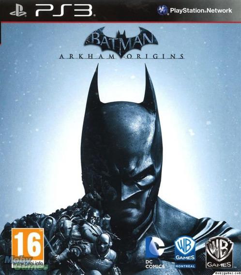 Jogo Batman Arkham Origins Playstation 3 - Mídia Física