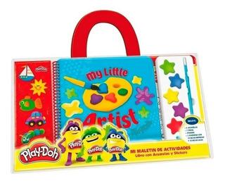 Mi Maletín Libro C/ Acuarelas Y Stickers Play-doh Kreker