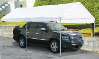 Carpa Para Vehiculos Movible De 3 X 6 Mts 62858hf
