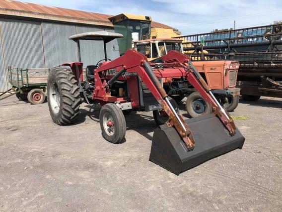 Tractor Massey Ferguson 1175, Con Pala Frontal Lecar.