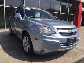 Chevrolet Captiva Sport 2013 Azul Piel Q/c Rines Aluminio Cd