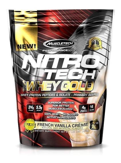 Nitro Tech 100% Whey Gold (454g) Muscletech