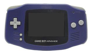 Console Game Boy Advance Roxo Nintendo Pronta Entrega