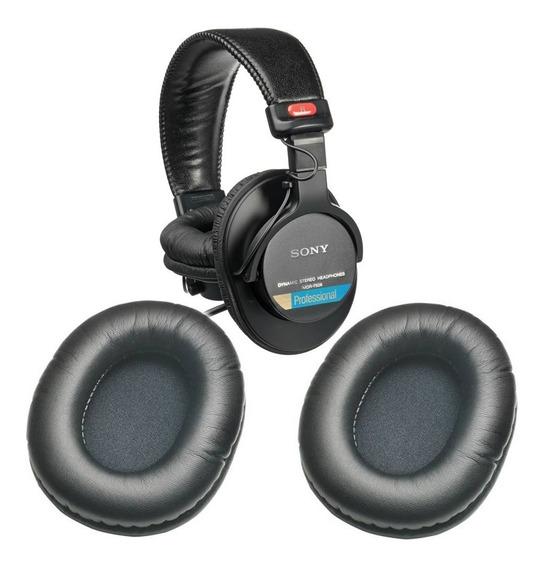 Espumas Almofadas Para Fones De Ouvido Sony Mdr 7506 Mdr7506