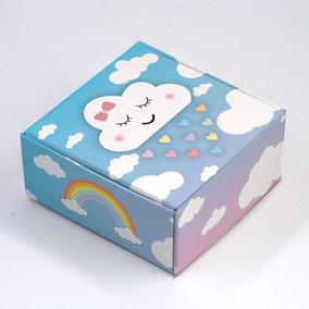 Caixa Para 4 Doces Chuva De Amor C/10 Un