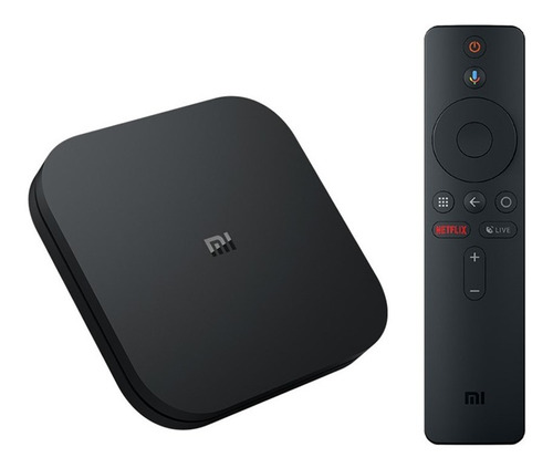 Imagen 1 de 7 de Xiaomi Mi Box S 4k Ultra Hdr Android Tv Box Global Negro