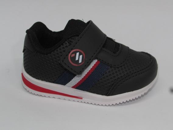 Tênis Infantil Menino Velcroo Mini-pé Colonelli Mp1843