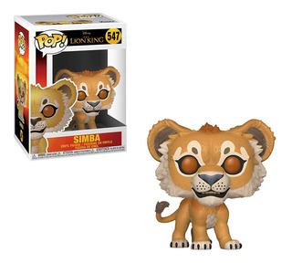 Figura Funko Pop Disney Rey León - Simba 547