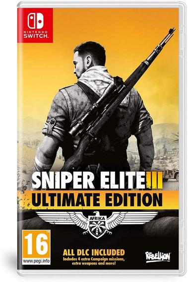Sniper Elite 3 Ultimate Edition - Switch - Pronta Entrega!