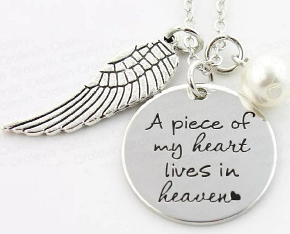 Dije Ala De Angel Un Pedazo De Mi Corazón Vive En El Cielo