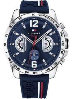 Reloj Tommy Hilfiger Decker 1791476 Hombre En Cuotas !!!