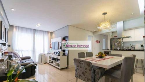 Apartamento Com 3 Dormitórios À Venda, 68 M²  - Aclimação - São Paulo/sp - Ap5292