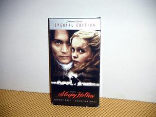Sleepy Hollow (tim Burton) - Special Edition - Vhs (01) Imp.