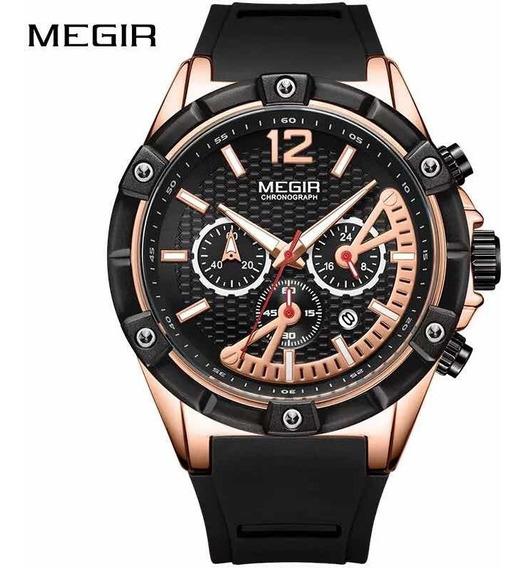 Relógio De Pulso Masculino Megir 2083 Original Com Caixa