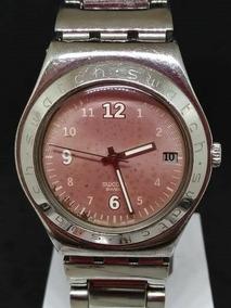Relógio Swatch T03149 Iron Feminino Bateria Webclock