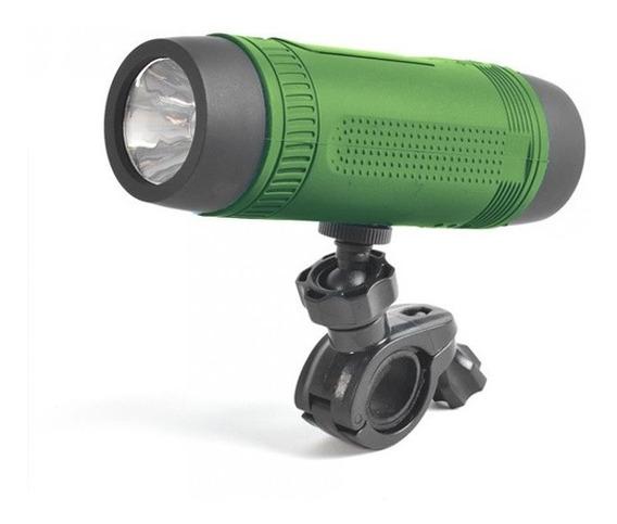 Caixa De Som Sport Bluetooth Lanterna Powerbank