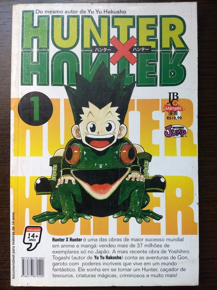 Mangá - Hunter X Hunter - Vol.01