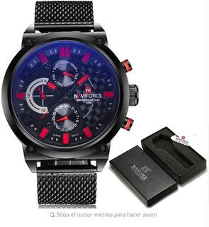 Reloj De Pulso De Lujo Top Brand Naviforce Original