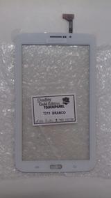 Tela Touch Tablet Samsung Tab 3 Sm-t211 P3200 Branco Novo