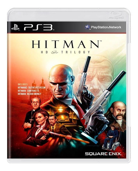 Hitman Hd Trilogy Ps3 Mídia Física Pronta Entrega
