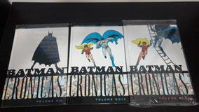 Hq Batman Crônicas Completo Capa Dura Panini 3 Volumes