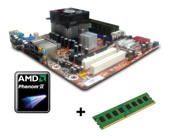 Kit Gamer Top Phenom Am3 Ddr3 8gb + Amd Phenom Ii Quadcore X4 925