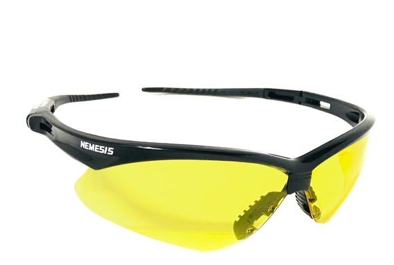 Óculos Proteção Lente Amarela Anti Reflexo Noturno Esportes