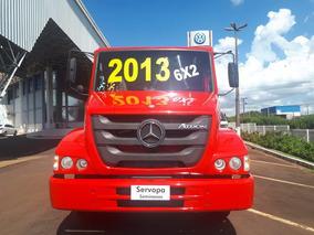 Mercedes Benz Atron 2324 Ano 2013 Cacamba